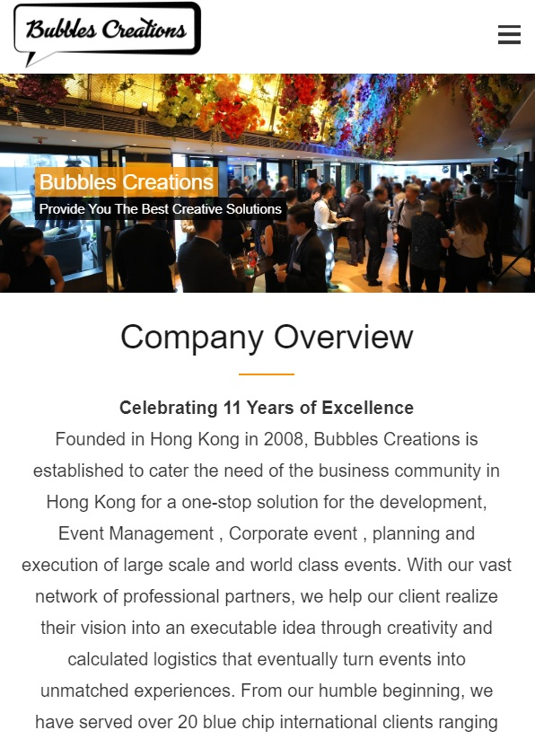 Top 10 Event company